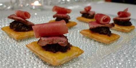 puff pastry canapes ideas year s beef wellington canapés noon café