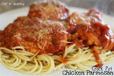 crock pot chicken breast recipes crock pot chicken parmesan chef in training