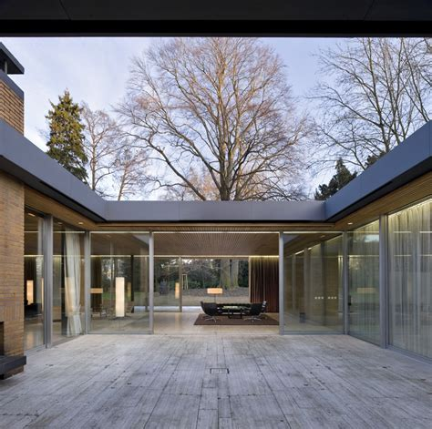 Bungalow Mit Atrium by W 252 Stenrot Stiftung Kanzlerbungalow In Bonn