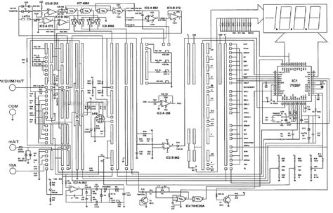 Multimeter Sch Service Manual Download Schematics