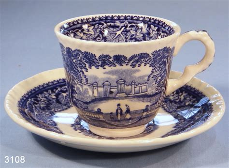 Masons Blue Vista Vintage Coffee Cup And Saucer Top Coffee Bean Producing Countries Glass Table Retro Best Drinks French Drink Out Of Bowls Beans In Melbourne Anthon Berg Australia Used Tables