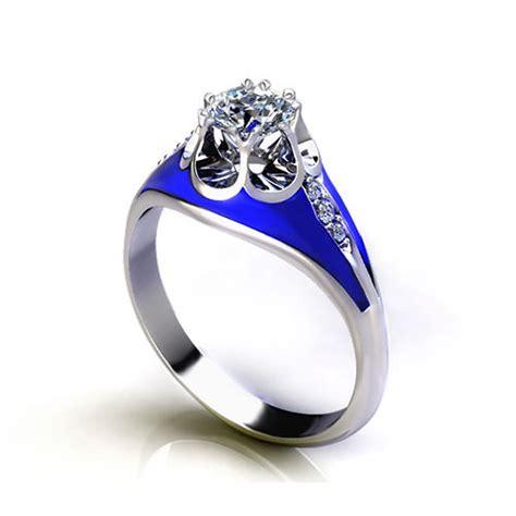 unique diamond engagement rings jewelry designs