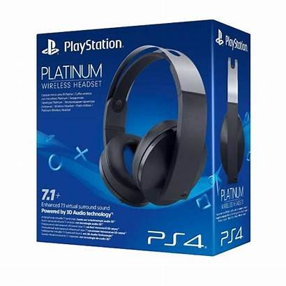 Sony Platinum Auricular Ps4 Cechya Wireless Headset