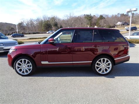 red land rover old 2015 montalcino red land rover range rover suvs