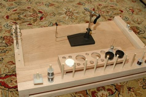 diy fly tying bench    guy fly tying forum