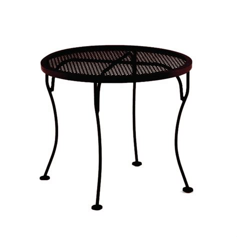ow 24 quot micro mesh side table leisure living