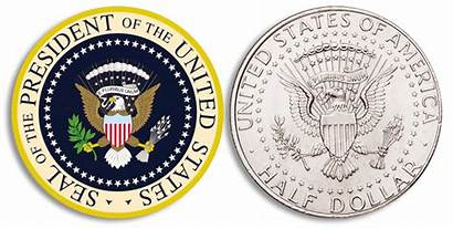 Presidential Coins Seal Support Candidate Biden Coin