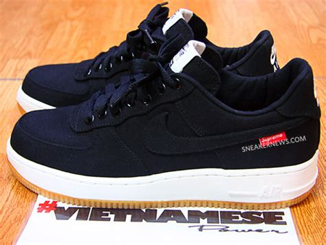 nike air 1 low supreme supreme x nike air 1 low premium sneakernews