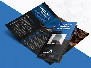 Creative Agency Trifold Brochure Free PSD Template ...