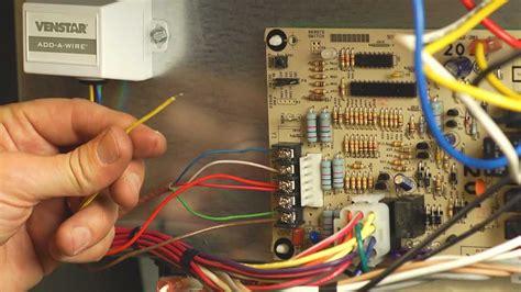 official venstar acc add  wire installation