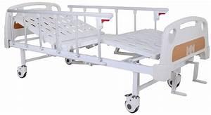 China Double Crank Manual Hospital Bed  Sk-mb106