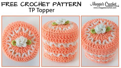 Free Crochet Pattern For Toilet Paper Holder