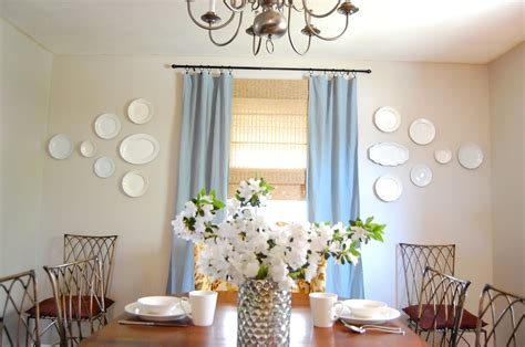 dining room plate wall diy show  diy decorating