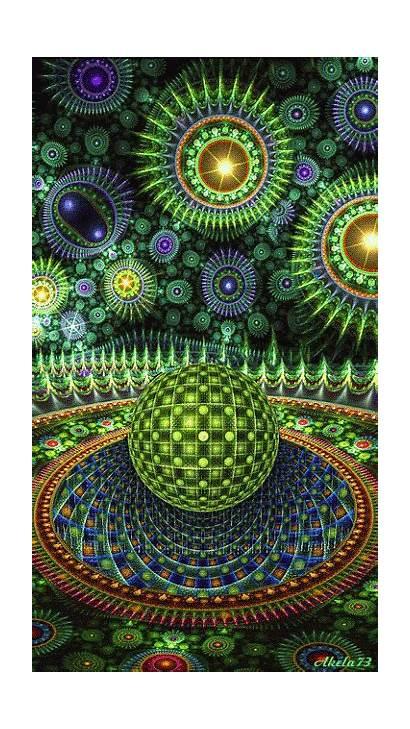 Illusions Psychedelique Fractal Optique Trompe Oeil Trippy