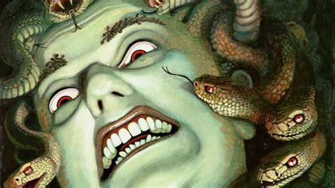 medusa, Monster, Creature, Gods, God, Art, Artwork ...