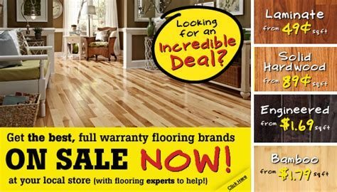 Lumber Liquidators: Hardwood Floors for Less! OLD