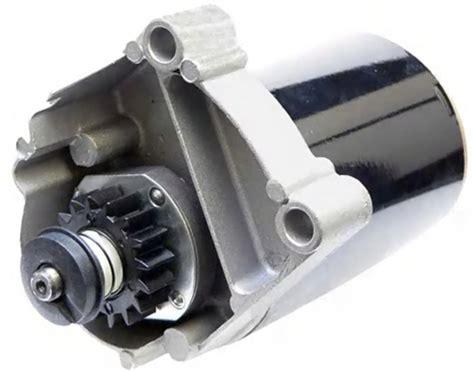 briggs starter twin cylinder  hp engines