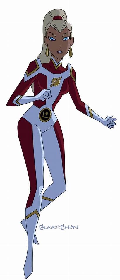 Deviantart Saturn Dc Vs Justice League Legion