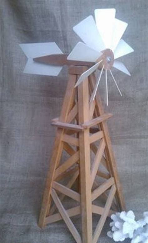 homemade model windmill  tall windmill diy homemade