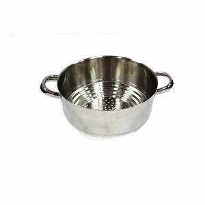 Cuit Vapeur Inox : passoire de cuit vapeur inox artame 16 18 20 cm ~ Melissatoandfro.com Idées de Décoration