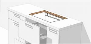 Meuble Plaque De Cuisson : si vous souhaitez positionner 1 meuble tiroir sous la plaque de cuisson opter pour un ~ Teatrodelosmanantiales.com Idées de Décoration