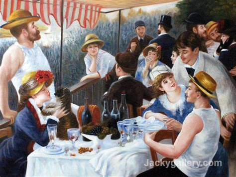 Luncheon Of The Boating by Paintings For Sale Cheap Painting