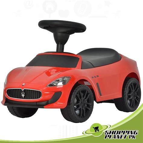 maserati pakistan kids maserati push car available for sale in pakistan with