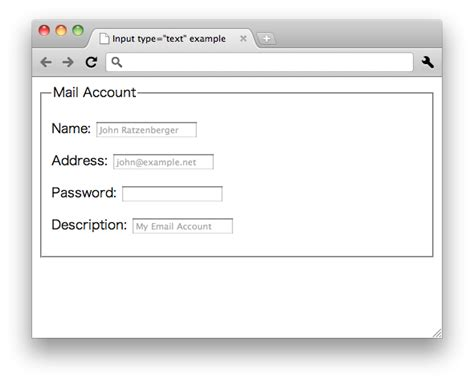 html elements input text w3c wiki