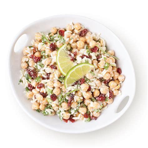 cuisine pois chiche salade de pois chiches avec riz recettes cuisine et