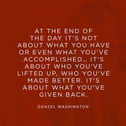 quotes about giving back quotesgram