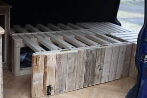 Bett Auf Paletten : vw bus ausbau mit paletten pallets ausziehbares bett ~ Michelbontemps.com Haus und Dekorationen