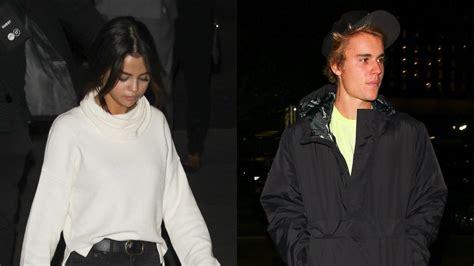 Justin Bieber and Selena Gomez Enjoy Private Dinner After ...