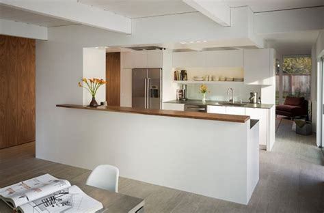 cuisine ouverte sur salle à manger et salon separation cuisine salle a manger am nagements cuisine