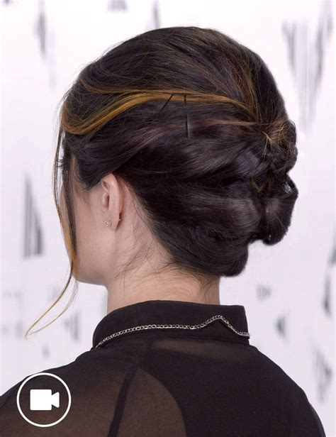 short updo hair style   occasion redken