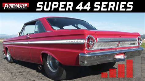 ford falcon  flowmaster super  youtube