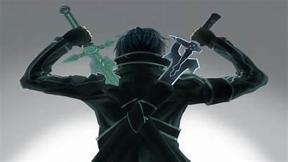 Dual Wield Kirito Sword Hipwallpaper