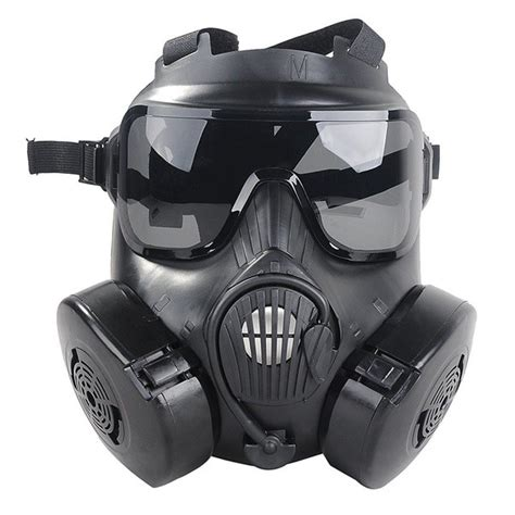 gas masks  cheek filters   advantages