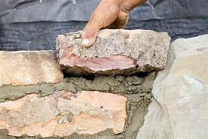 Mauer Bauen Fundament : natursteinmauer ohne fundament bauen geht das ~ Orissabook.com Haus und Dekorationen