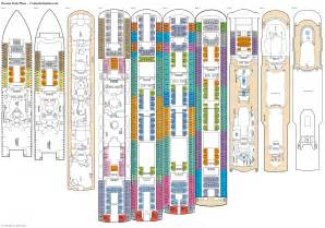 oceana deck plans diagrams pictures
