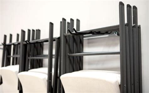 large folding chair rack folding chair rack monkey bar