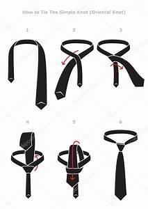 Simple Knot Tying Instructions  U2014 Stock Vector  U00a9 Ardaa