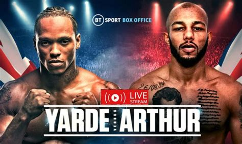 Fight Night Reddit Stream Yarde vs Arthur: How to watch ...