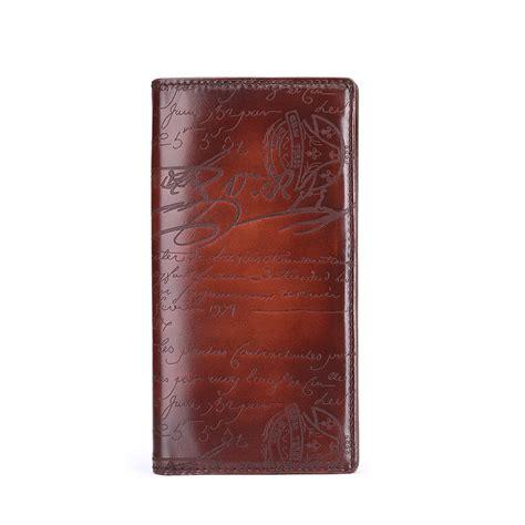 terse luxury lettering wallet genuine purse