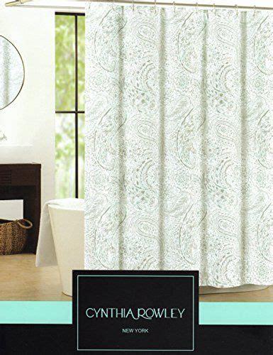 cynthia rowley white window curtains cynthia rowley waterdrop paisley fabric shower curtain 72