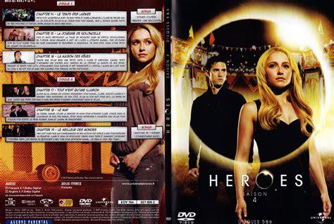 jaquette dvd de heroes saison 4 dvd 3 cin 233 ma
