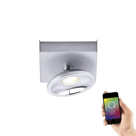 led deckenleuchte spot paul neuhaus led deckenleuchte aluminium smart home spot 1
