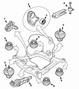 2004 Volvo C70 Convertible Volvo C  S  V70 Engine Mounts Diagram