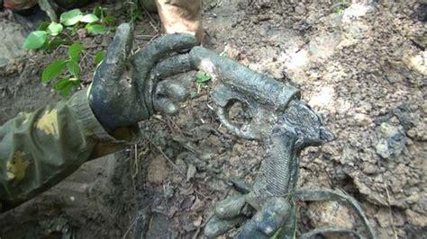 military archeology ww german flare gun  duksi videohive