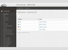 MiRTA PBX Multitenant Realtime Asterisk PBX