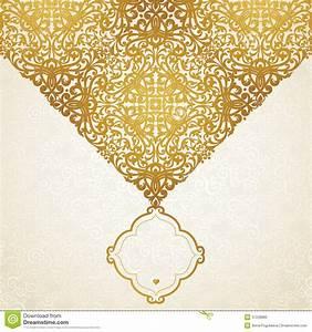 Vector Golden Pattern Stock Photo - Image: 37228880